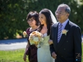 Aberville Estate Wedding - Bride and Parents