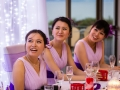 Bridesmaids at the Head Table